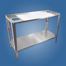 large stainless steel sink fish cleaning table ifish