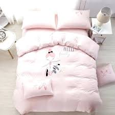 ballerina bedding set ballerina comforter sets knitted exclusive bedding set ballet girl for kids safety standards ballerina bedding