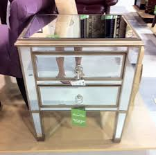 Home Goods Coffee Table Mirrored Nightstand Home Goods
