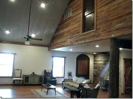installing corrugated metal wainscoting beautiful ceiling ideas h