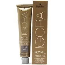 Schwarzkopf Igora Royal Absolutes Permanent Anti Age Color Creme 2 1 Fl Oz 60 G