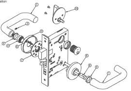 Schlage Mortise Lock Parts Diagram WIRING CENTER