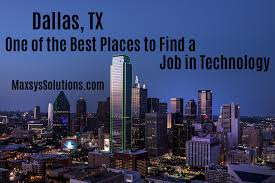 Best Places To Search For Jobs Dallas Tx One Of The Best Places To Find A Job In Technology