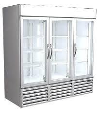 glass door cooler used