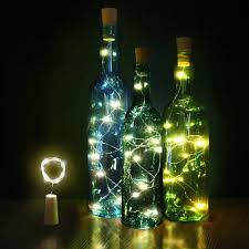 How To Make Decorative Wine Bottle Stoppers 100 100 LED DIY Cork Light String Wine Bottle Stopper Copper Fairy 37