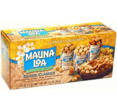 island clics mauna loa macadamia nuts 3 can gift collection great gift