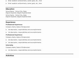 Free Resume Builder Download Luxury Cv Line Of Generator For Resumes