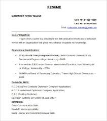 ... Resume Form 4 Resume Form Examples Basic Template For Referral Letter  Sample Template For Freshers Format ...