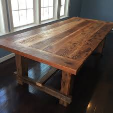 reclaimed wood furniture etsy. Farm-style Dining Table, Hand-made From Reclaimed Barn Wood. On Etsy Wood Furniture