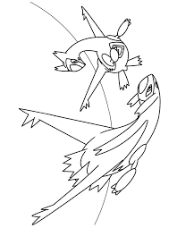 Latios Coloring Page At Getdrawingscom Free For Personal Use