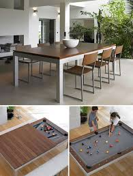 modern pool table dining table. Brilliant Table Fusion Dining Table Pool More To Modern
