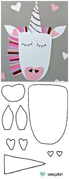 Free Craft Printables Templates Free Printable Templates Of Heart Shape Animals Crafty Morning