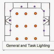 placing recessed lighting in living room. general and task recessed lightin layout placing lighting in living room