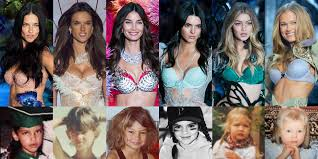 42 20 top victoria secret models with and without makeup