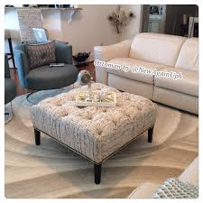 Round Table Ottoman Coffee Table Round Tufted Ottoman Coffee Table Leather Ideas