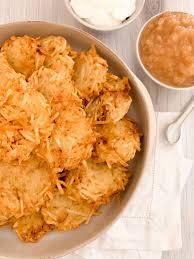 traditional potato latkes the elegant