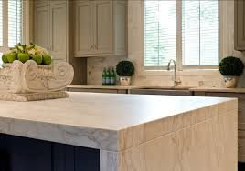 calacatta marble kitchen waterfall: marble countertop kitchen island with white marble countertop the fabulous waterfall edge island stone is calacatta gold marble which has been ho