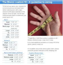 Nike Golf Glove Size Chart Images Gloves And Descriptions