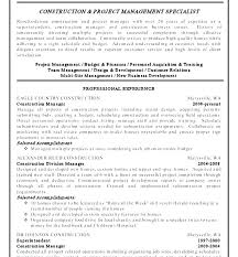 Business Management Resume Objective Project Management Resume Objective Mmventures Co