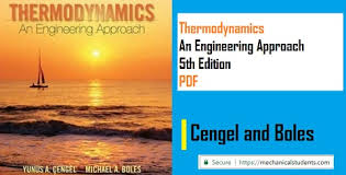 Thermodynamics An Engineering Approach 5th Edition PDF by Cengel and ...