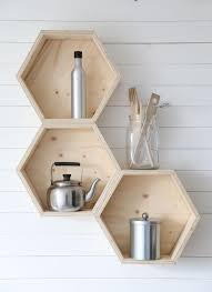Shelf For Kitchen Honeycomb Shelves Would Go Great With Our Kitchen Plan Link Is