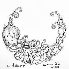 осьминог и корабль тату кинозавр