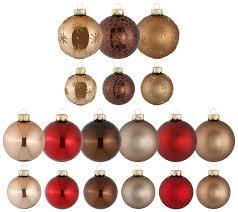 Weihnachtsbaumkugel Braun Magic Christmas Greetings Magic By Inge