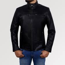 jack danson black alpha male premium genuine leather men s jacket