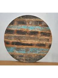 48 reclaimed rustic burn wood round table top 12 wall sculpture