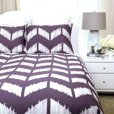 black and white chevron bedding purple duvet cover bedroom contemporary with turquoise sheets