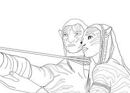 Small Picture avatar coloring pages Coloring Pages