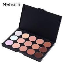 mydytenle professional concealer neutral palette 15 colors makeup tools care eye cream concealer camouflage