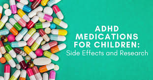 Types Of Adhd Medication Chart Adhd Medications For Children Side Effects And Research