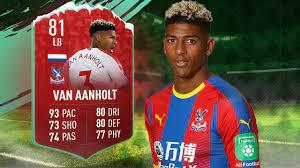 FUTMAS van Aanholt Review | FIFA 19 81 FUTMAS van Aanholt Player Review -  YouTube