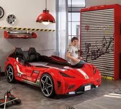 <b>Кровать</b>-<b>машина GTS</b> красная Carbed 1350 <b>CILEK</b> - купить по ...
