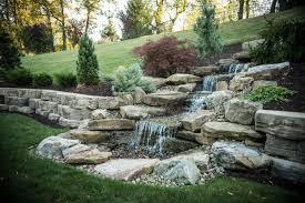Waterscape Garden Designs Ponds Pondless Waterfalls Waterscape Designs