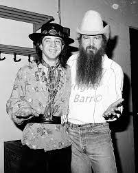 No worries about a bad hair day ever. Billy Gibbons Srv Two For Texas Texas Vintage Blues