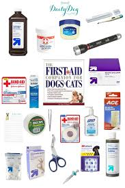 first aid care for pets diy first aid kit for dogs canine first aid