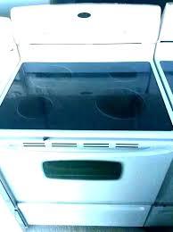 broken glass stove top ed glass stove top replacing ceramic replacement broken glass stove top repairs