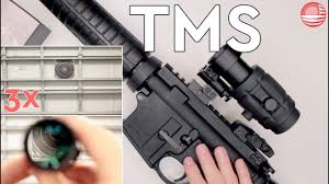 TMS <b>Tactical 3x Magnifier Scope</b> Review (AR-15 Magnifier) - YouTube
