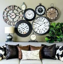 wall of clocks design wall decor clocks unique wall clocks wall clocks for wall decor idea wall of clocks