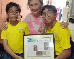 Myra Richards Singapore's Table Tennis... - Eurasians International |  Facebook