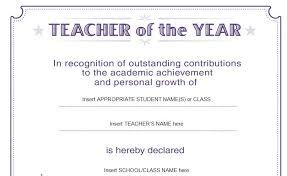 Best Teacher Certificate Templates Free Free Printable Teacher Appreciation Certificates Best Certificate