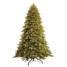 9 ft. Just Cut Norway Spruce EZ Light Artificial Christmas Tree ...