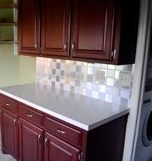Kitchen Backsplash For Renters Contact Paper Tiled Backsplash My Goal Is Simple