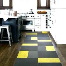 yellow kitchen mat black rug contemporary runner red and rugs cutlery chef white brown fork k