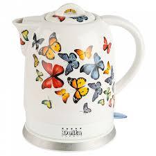 Электрический <b>чайник Delta DL-1233A</b> Бабочки — цена, купить ...
