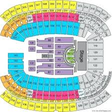 Organized Gillette Stadium Seating Chart For Kenny Chesney
