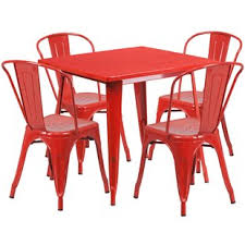 Red dining table set Contemporary Quickview Wayfair Red Kitchen Dining Room Sets Youll Love Wayfair