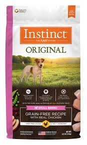 instinct original grain free recipe with real en for small breed dogs